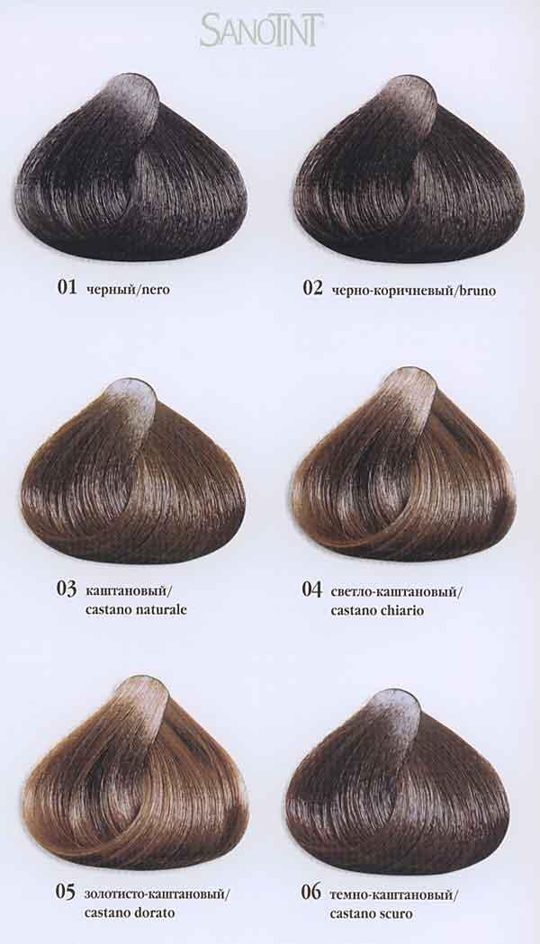 Пепельный коричневый цвет волос краска для